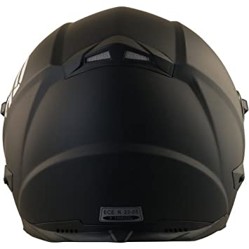 Broken Head BeProud rot Ltd schwarz-matt schwarzem Visier 55-56 cm | Motorradhelm inkl S