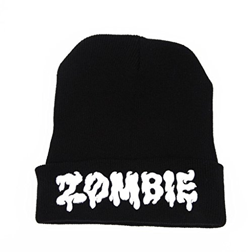 Winter Hat, ღ Ninasill ღ Exclusive ZOMBIE Beanie Hat And Snapback Unisex Cap - Snapbacks Exclusive