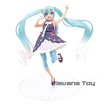 Amazon.com: GrandToyZone FIGURE SERIES - Hatsune Miku Action ...