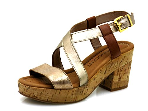 Innocent High-Heeled Sandals Leather Sandal Leather Shoes Summer Shoes 195-ss04 CVAWqqdr0