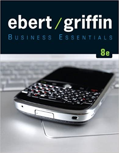Business essentials 8th edition ronald j ebert ricky w griffin business essentials 8th edition ronald j ebert ricky w griffin 9780137053490 amazon books fandeluxe Choice Image