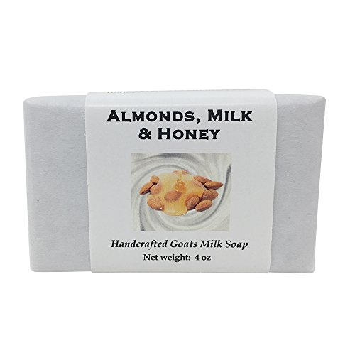 Almond Milk and Honey Soap by MoonDance Soaps - Handmade Soap with Goat Milk and Shea Butter