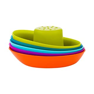 Boon Stacking Boats Bathing Toys (Pack of 5)