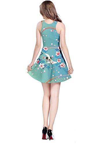 CowCow - Vestido - para mujer Blue Sakura