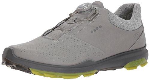ECCO Men's Biom Hybrid 3 BOA Gore-Tex Golf Shoe, Wild Dove/K