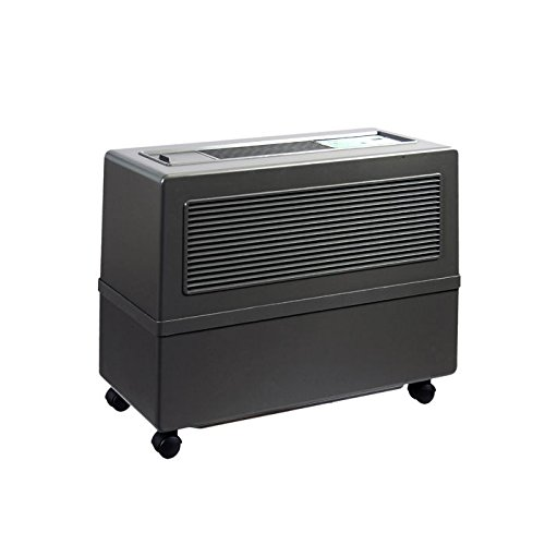 Brune Professional Evaporative Humidifier with UV-C Technology, Charcoal