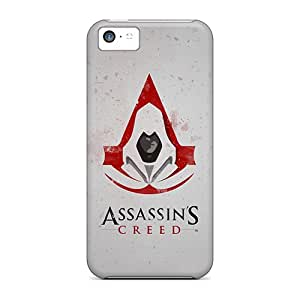Perfect Cell-phone Hard Covers For Apple Iphone 5c (woG8898Pxsm) Unique Design High-definition Assassins Creed Artwork Image