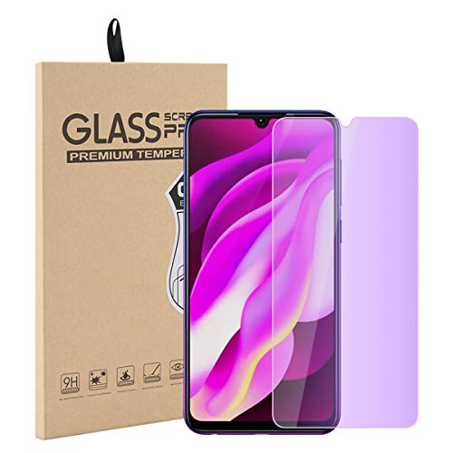 Vivo Y97 Tempered Glass Screen Film, Forhouse Anti-Scratch High Definition Curved-Edge Bubble-Free Screen FilmCompatible Vivo Y97 (1 PCS)