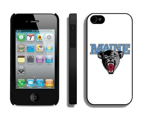 Maine Black Bears Customized iPhone 4 4S Case 37130