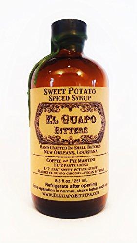El Guapo Bitters Sweet Potato Spiced Syrup - plastic bottle (8.5 oz)