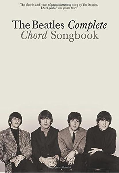 The Beatles Complete Chord Songbook: Amazon.es: Hal Leonard Publishing Corporation: Libros en idiomas extranjeros