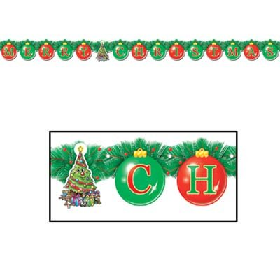 Beistle Party Decoration Merry Christmas Streamer 5 1/4'' x 5' 6''- Pack of 12 by Beistle (Image #4)
