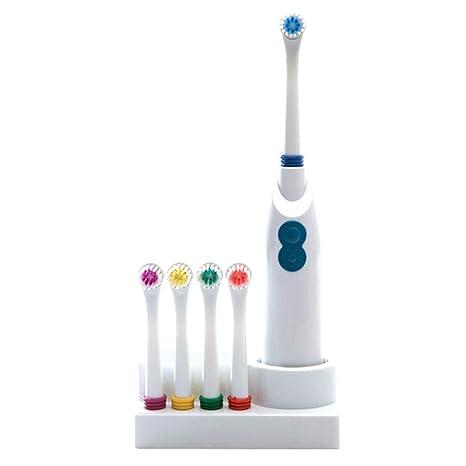 Uojack Niños adultos Batería impermeable Cepillo de dientes eléctrico Cuidado dental oral Cepillos de dientes eléctricos