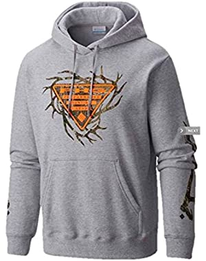 Men's PHG Posted Up III Hoodie Sweatshirt (Medium) Xtra Camo Heather Gray