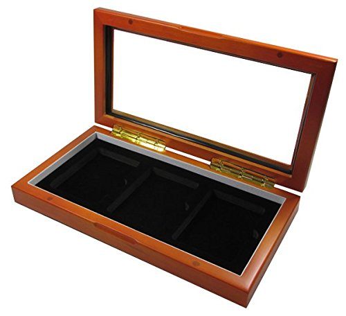- Three Certified / Slab Coin Glass Top Box