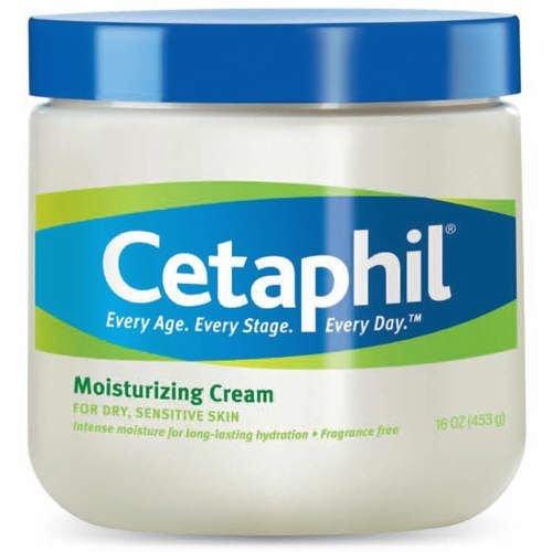 Crème hydratante Cetaphil pour peau sèche, sensible, sans parfum, non comédogène (20 Oz)