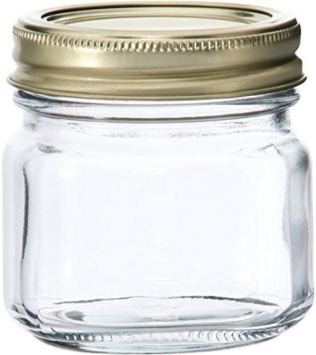 Anchor Hocking Half-Pint Glass Canning Jar Set 12pk