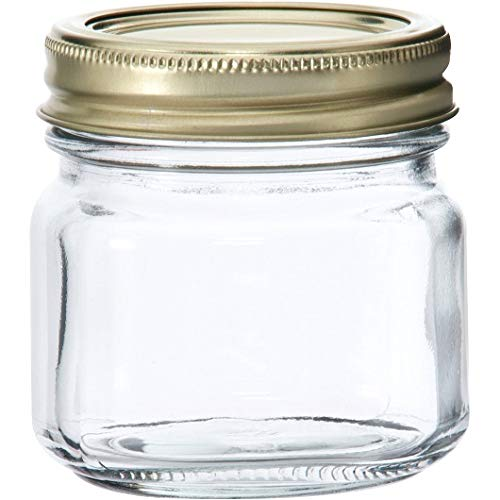 Anchor Hocking Half-Pint Glass Canning Jar Set, 12pk (1) by Anchor Hocking