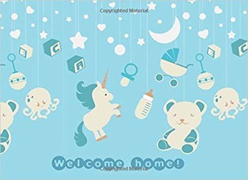 Welcome Home Welcome Baby Baby Shower Message Log Keepsake