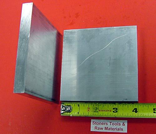 2 Pieces 1/4'' X 4'' Aluminum 6061 T6511 Flat BAR 4'' Long .25'' Plate Mill Stock