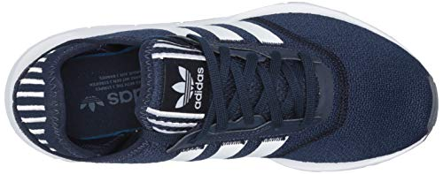 adidas Originals Women's Swift Essential Sneaker, Navy/White/Silver, 10.5