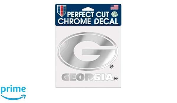 WinCraft NCAA University of Georgia Bulldogs 3 x 10 Perfect Cut Decal