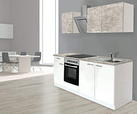 RESPEKTA incasso cucina angolo cucina BLOCCO CUCINA 210 cm ...