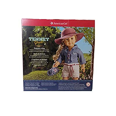 American Girl Tenney's Hat and Necklace for 18-inch Dolls: Toys & Games
