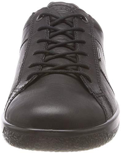 Ecco Men's Sneaker 1001 1 Uomo Soft black Nero wRqZ4