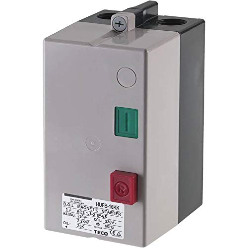 Grizzly T24101 3 HP Magnetic Switch Single-Phase, 220V Only, 21-25A ()