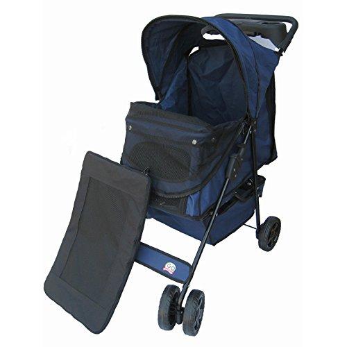 Go-Pet-Club-Pet-Stroller-Blue