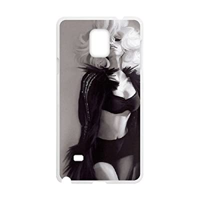 VNCASE Lady Gaga Phone Case For samsung galaxy note 4 [Pattern-4]