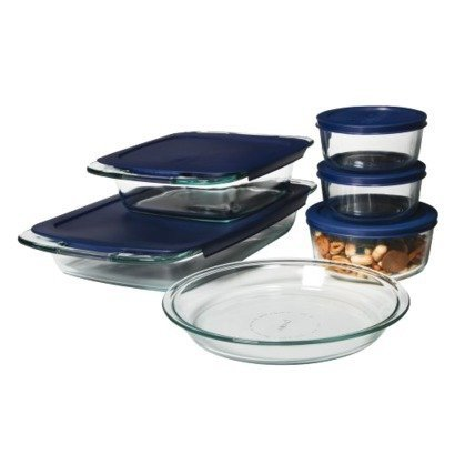 8 x 4 glass loaf pan - 3