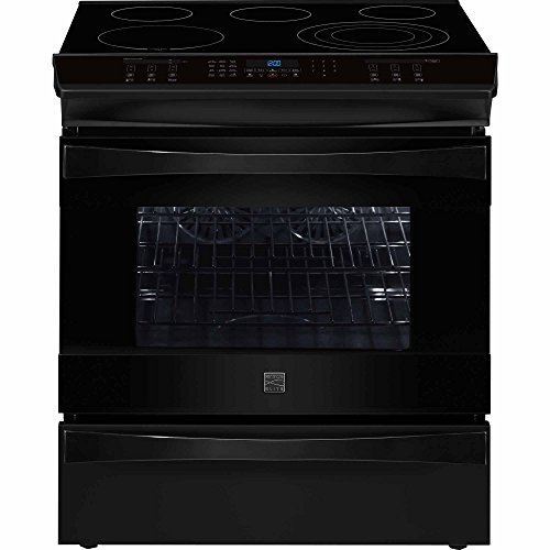 Kenmore Elite 42569 4.6 cu. ft. Self Clean Electric Slide-in Range in Black, includes delivery and hookup