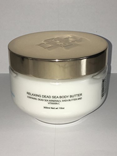 DEEP SEA COSMETICS Relaxing Body Butter with Dead Sea Minerals - Lavender and Calendula