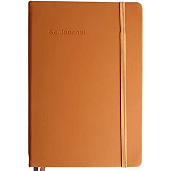 Go Journal - Plan your goals in 10 minutes per day - Dream big, make progress, and live well along the way - For the ambitious optimist - Undated, 90 days - Fall/Winter 2017 Edition (Napa Brown)