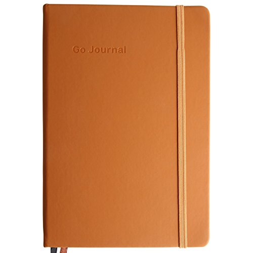 Go Journal - Plan your goals in 10 minutes per day - Dream big, make progress, and live well along the way - For the ambitious optimist - Undated, 90 days - 2018 Edition (Napa Brown) by Go Journal