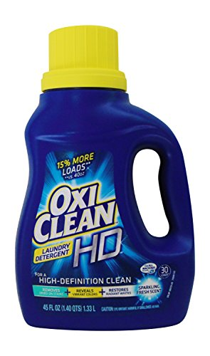 Oxiclean Laundry Detergent Hd Sparkling Fresh Scent 45 Fl