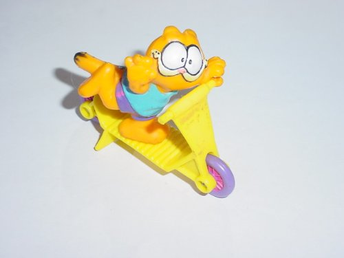 Meal Happy Collectibles (McDonalds Garfield on a Scooter Happy Meal Toy - Vintage 1988)