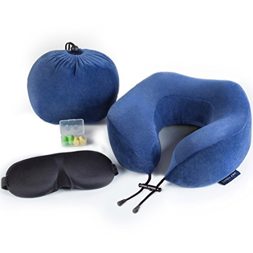 Travel Pillow And Eye Mask - 8