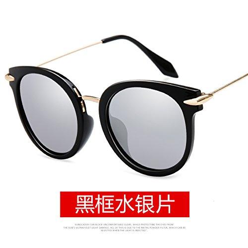 Polarizadas Gafas Mujer De Silver Redondas Sol gafas Sol Azul Ojos regalos San Valentín decoración día B Llztyj dXnp5wCqw