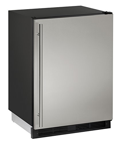 U-Line UCO1224FS00B 4.2 cu. ft. Built-in Refrigerator/Freezer Combo, Stainless Steel
