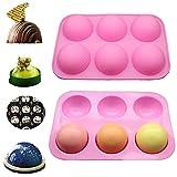 Half Ball Sphere Silicone Cake Mold,Muffin