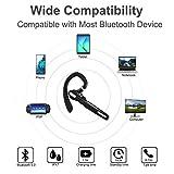 Bluetooth Headset, Wireless Bluetooth Earpiece V5.0
