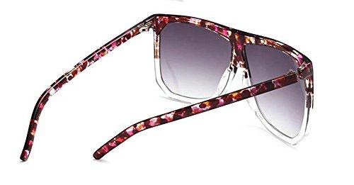 rond style vintage C de inspirées cercle soleil métallique Noir Frêne polarisées en du retro Lennon lunettes 7qX0w
