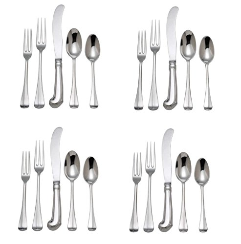 Scroll Royal Teaspoon - Reed & Barton Colonial Williamsburg Royal Scroll 18/10 Stainless Steel 20pc. Set (Service for Four)