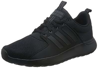 adidas, Cloudfoam Lite Racer Shoes, Men's Shoes, Black/Black/UtilityBlack, 5.5 US