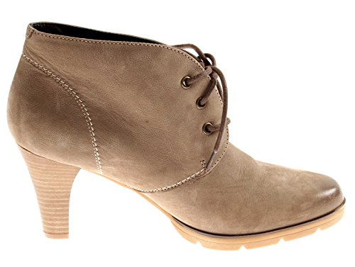 Boots Ladies Leather Nubuck Shoes Boot Ladies Isabelle Ankle Stone Ankle 5Fxa4nqwA
