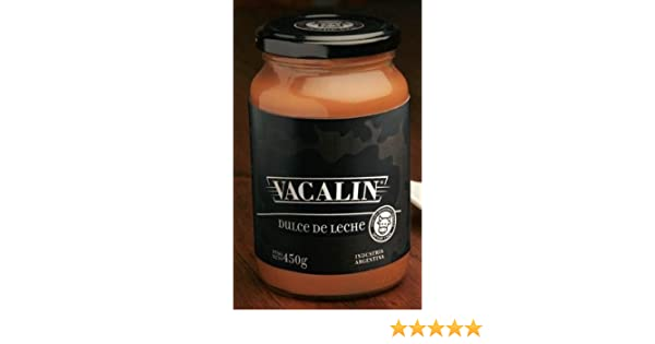 Amazon.com : Vacalin Dulce De Leche From Argentina 15.87 Oz /450gr : Grocery & Gourmet Food