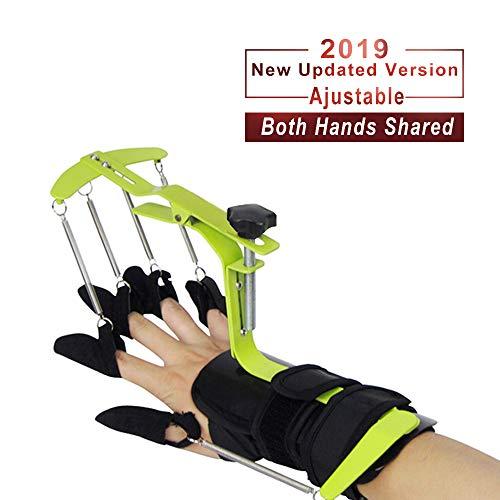 Konliking Finger Brace Trigger Splint Support Rehabilitation Training Device Hand Impairment Finger Squeeze Equipment for Stroke Spinal Cord Traumatic Brain Injury Medical Training for Hemiplegia ()
